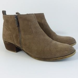 Lucky Brand LK-BETWIXT suede ankle boots 10M